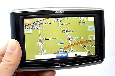 """Magellan Maestro 4040 Car Portable GPS Navigator 4.3"""" Widescreen LCD 3D Map -A-"""