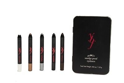 YBF Your Best Friend gelUs Eyes 5 Piece Smudge-Proof Eyeliners In Tin -
