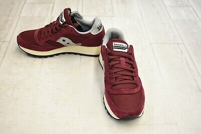 SAUCONY Freedom Trainer Athletic Shoes - Men's Size 3.5 - Crimson -