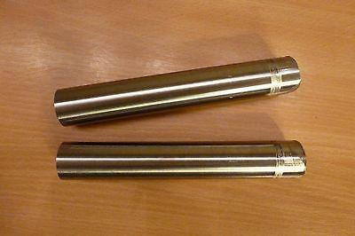 2 x V2A Edelstahl Welle Rundmaterial Rundstahl Ø 32 mm Länge ca. 180 mm 1.4305 gebraucht kaufen  Kempten