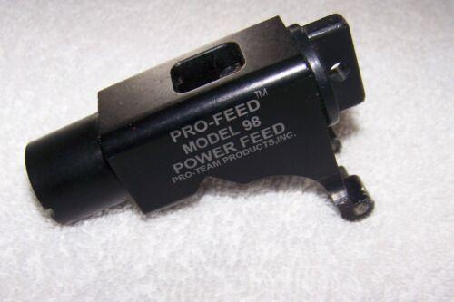 Pro Team Power Feed Tippmann Model 98 Paintball Gun Hopper Loader Feeder Elbow