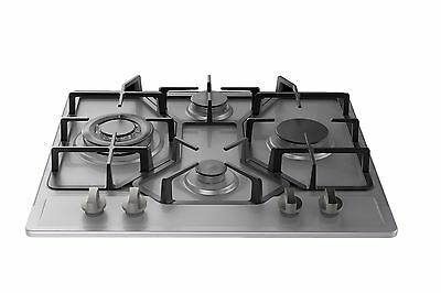 """Empava 24"""" Stainless Steel 4 Italy Imported Sabaf Burners Stove Tops Gas Cooktop"""