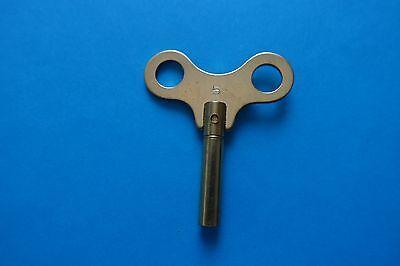 Uhrenschlüssel für Großuhren Nr. 5 Vierkant 3,50 mm Messing