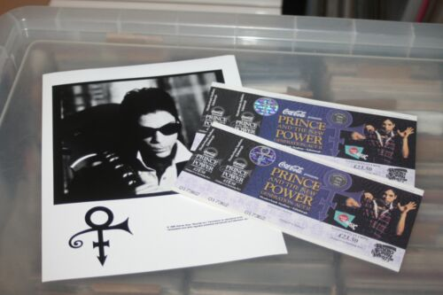 Prince - Promo Publicity Photo + 2x unused Tickets