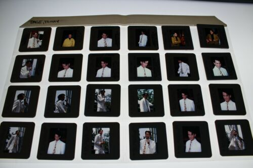 TOMMY PAGE RARE LOT OF VINTAGE 35MM SLIDE TRANSPARENCY PHOTO #6