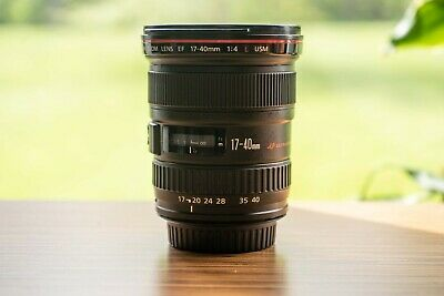 Canon EF 17-40 mm f/4 L USM Lens, Great Condition!