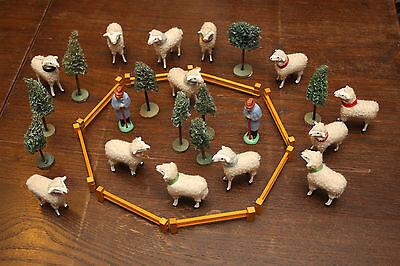 Erzgebirge Schafe Schäfer Wollschaf Baum Glück Auf Pyramide Weihnachten Figuren