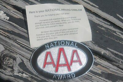 Original 1950 's- 1960s Vintage AAA auto metal emblem nos badge Ford gm chevy