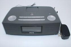 iHome iBN97 Bluetooth FM Clock Radio and Speakerphone With USB Hotel