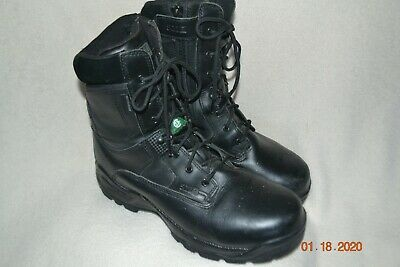 5.11 LEATHER BOOTS SIDE ZIP STEEL TOE MENS SIZE 10 1/2 Side Zip Steel Toe Boots