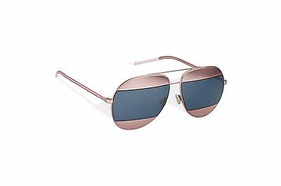 a77406d449 Authentic Christian Dior SPLIT Pink and Blue mirror avitor sunglasses