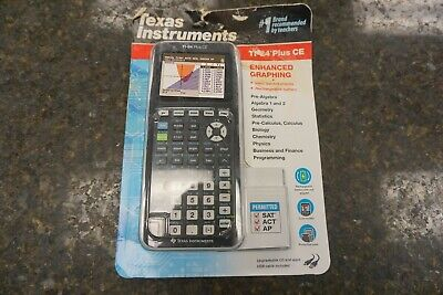 *NEW* Texas Instruments Ti-84 Plus CE Graphing Calculator