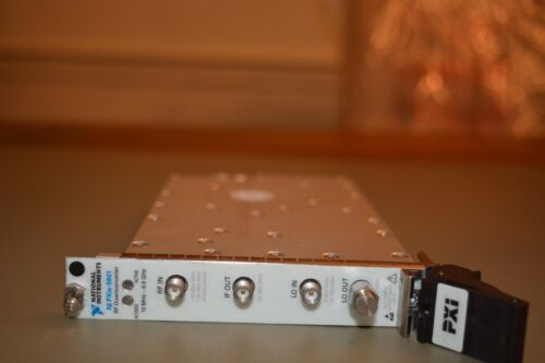 National Instruments NI PXIe-5601 RF Downconverter 10MHz to 6.6GHz