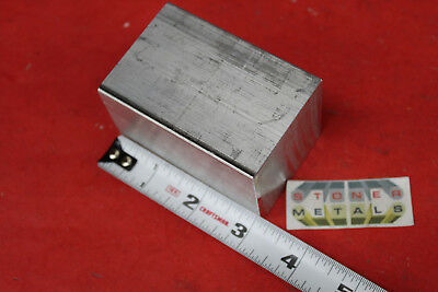 2x 2 Aluminum Square 6061 3 Long Solid Bar T6511 New Extruded Mill Stock