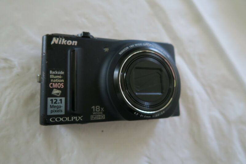 Nikon COOLPIX S9100 12.1 MP Digital Camera with 16 GB  Memory Card