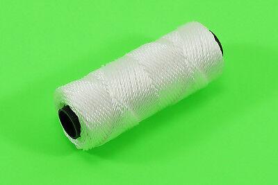 ►► Maurerschnur Markierungsschnur Fliesenschnur weiß Lotschnur 1,5mm x 50m