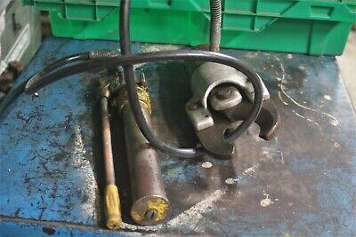 Greenlee Hydraulic Cable Cutter Head 5017872 W Hydraulic Pump