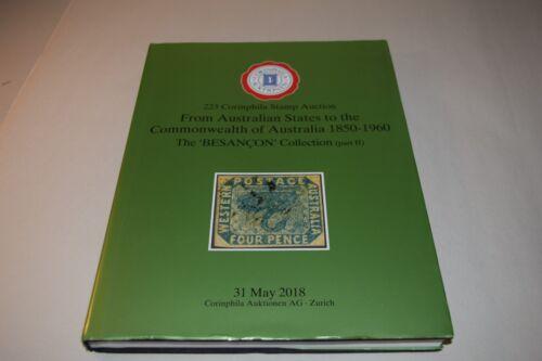 223 Corinphila Australian States - Commonwealth 1850 - 1960 Stamp Auction