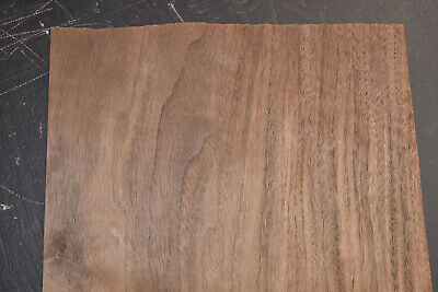 Walnut Raw Wood Veneer Sheets 12 X 46 Inches 142nd Thick   8709-4