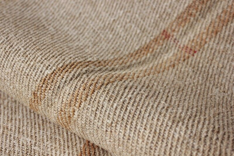 Vintage grainsack fabric grain sack table runner 6.7 yards caramel striped bolt