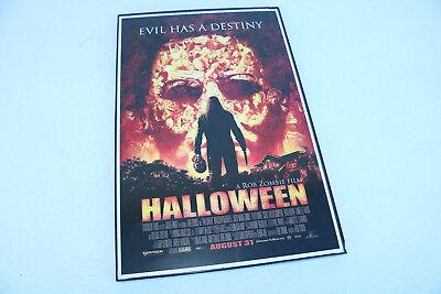 Wall Art HALLOWEEN horror Movie Smaller Poster Rob Zombie Decor - Rob Zombie Halloween Decorations