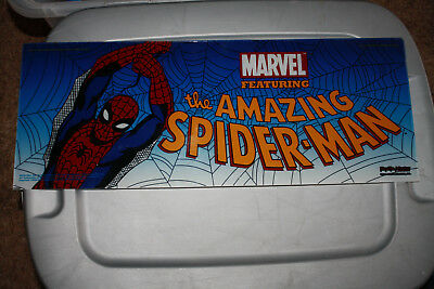 "MARVEL ""THE AMAZING SPIDER-MAN"" SLOT MACHINE BELLY GLASS, VERY RARE"