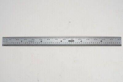 """General Tools CF643 Flexible Stainless Steel Rule 6/"""" x 1//2/"""""""
