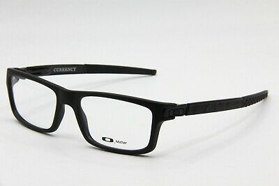 Used, NEW OAKLEY OX8026-0154 SATIN BLACK CURRENCY AUTHENTIC EYEGLASSES FRAME RX 54-17 for sale  Brooklyn
