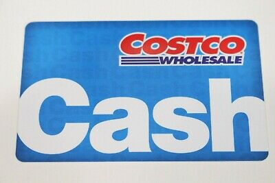 Costco Wholesale Cash Gift Card Zero Balance $0 EmptyWarehouse access FREE (Warehouse Gift Cards)