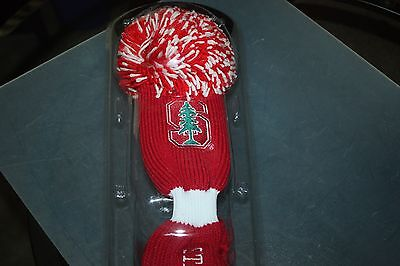 Stanford Cardinal Pom Pom Driver Headcover   Ncaa Licensed Product