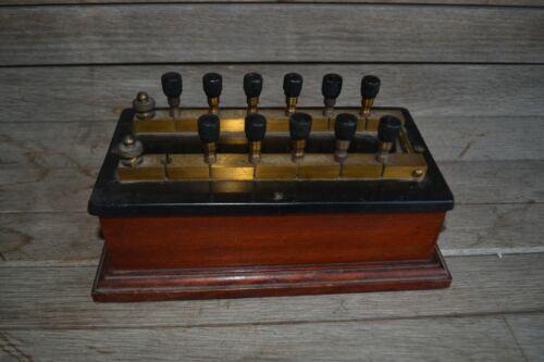 Antique Knott Boston Apparatus Variable Resistor Scientific Electrical
