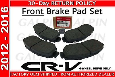01 Awd Brake - Genuine OEM Honda CR-V AWD Front Brake Pad Set 2012-2016 Brakes Pads
