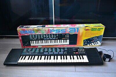 Yamaha PSS-31 Portasound Electronic Keyboard, With Power Adapte VGC