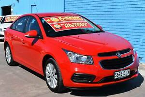 2016 Holden Cruze JH Series II Equipe Sedan 4dr Spts Auto 6sp 1.8 Enfield Port Adelaide Area Preview