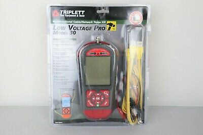 Triplett Lvpro30 Low Voltage Network Cable Tester W 12 Apps For All Wire Types