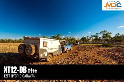 2018 MDC XT12-DB HYBRID OFFROAD CARAVAN Edge Hill Cairns City Preview