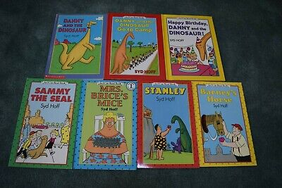 """""""I CAN READ"""" BOOKS BY SYD HOFF,Level 1,  Lot 7 books (5 available)"""
