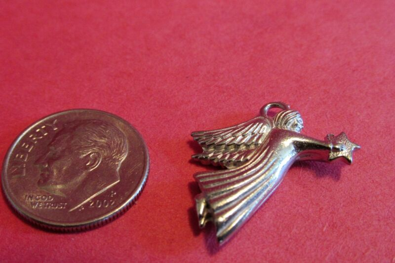 20  Pewter Angel Charms