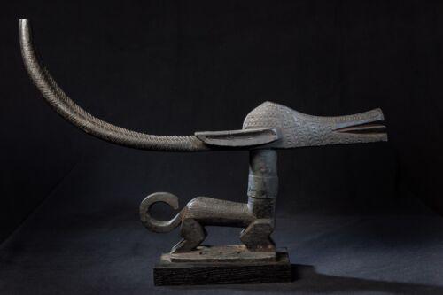 Bambara, Chiwara Head Piece, Beledougiu region, Mali, Old European Collection