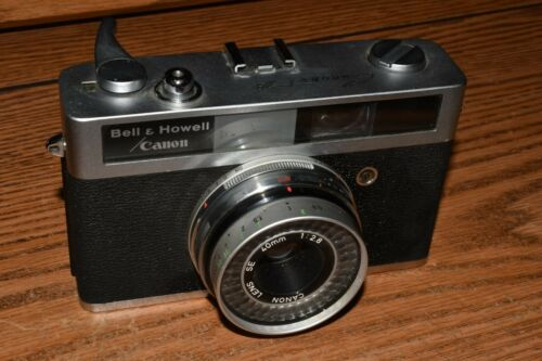 BELL AND HOWELL CANON CAMERA CANONET 28   AS IS Untested