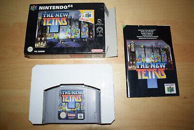 Nintendo 64 *The New Tetris* N64 OVP CiB Anleitung Sehr guter Zustand Near Mint