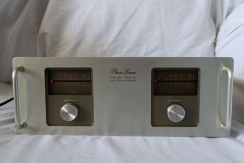 PHASE LINEAR MODEL 400 SERIES TWO AUDIO STANDARD AMPLIFIER