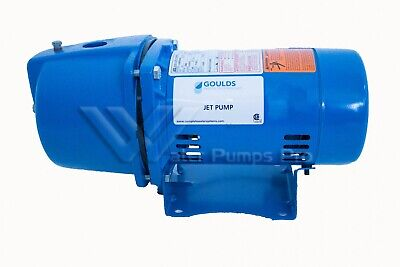 Goulds Jrs10 1 Hp Shallow Water Well Jet Pump 115230v 1 Phase