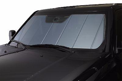 Leatherette Custom Fit Heat Shield SunShade For Silverado 1500 Crew Cab 14-19