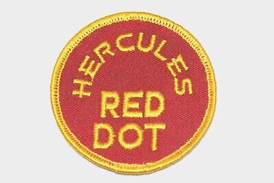 Lot of 2 Red Dot//Hercules Powder Shooting patches