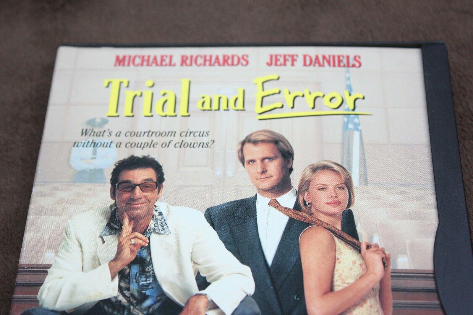 Trial And Error DVD, 1999, Fullscreen, Widescreen inva  - $4.99