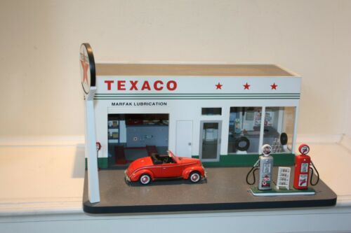 DANBURY MINT VINTAGE TEXACO MARFAK GAS STATION
