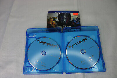 Transformers: The Last Knight [Blu-ray/DVD] 3 Disk set Only ***no digital**