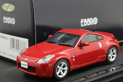 EBBRO 1:43 SCALE NISSAN FAIRLADY 350Z Z33 COUPE 2005 DIE CAST MODEL CAR