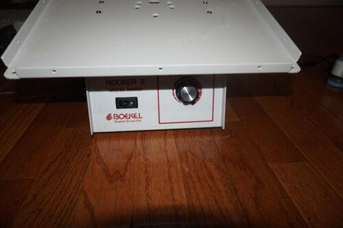 """Boekel  Rocker II Adjustable Speed Mixer Shaker 12""""x12"""" Platform  nutator 260350"""